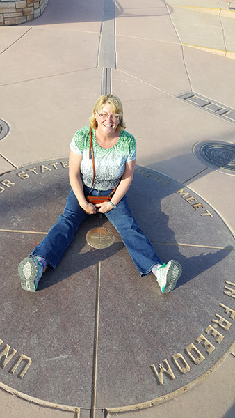 Marie in four states (Colorado,, Utah, Arizona and New Mexico)