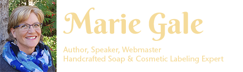 My blog about soap and cosmetic labeling, good manufacturing practices, soapmaking and other items of interest.
